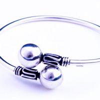 Silverwrap-bracelet