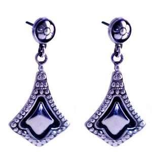 Hoop-silver-earrings