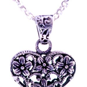 Silverheart-necklace