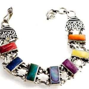 Cuff silver bracelet