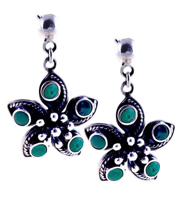 flower-silver-earrings